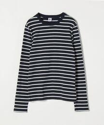 tシャツ Tシャツ 【SHIPS any別注】PETIT BATEAU: サコッシュ付きボーダー ロングスリーブ Tシャツ|ZOZOTOWN PayPayモール店