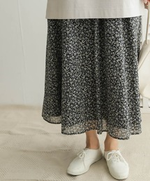 スカート フラワーギャザースカート|ZOZOTOWN PayPayモール店
