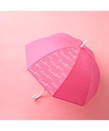 傘 プリュイ ビニール傘 ロゴ 58cm ピンク|ZOZOTOWN PayPayモール店