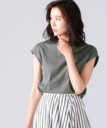 tシャツ Tシャツ AK+1 / コットン フレンチスリーブ Tシャツ|ZOZOTOWN PayPayモール店
