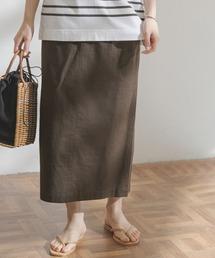 スカート FORK&SPOON コットンリネンストレートスカート|ZOZOTOWN PayPayモール店