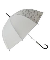傘 【雨傘】プリュイ ロゴ ビニール傘 58cm グレー|ZOZOTOWN PayPayモール店