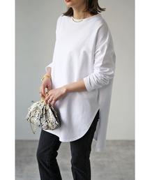 tシャツ Tシャツ 【2021 S/S 新作】 コットンサイドスリットロンT|ZOZOTOWN PayPayモール店