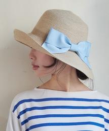 帽子 ハット 【ミルサ】[WEB限定] 洗えるブレードキャペリン ハット|ZOZOTOWN PayPayモール店
