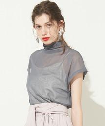 tシャツ Tシャツ 半袖チュールタートル|ZOZOTOWN PayPayモール店