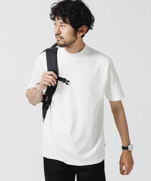 tシャツ Tシャツ 《イヤな臭いを軽減》Anti 半袖 Smell 特売 モックネックTシャツ ショップ
