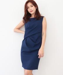 ドレス ウエストギャザーデザインドレス ZOZOTOWN PayPayモール店