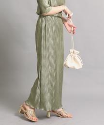 スカート 【低身長向けサイズ】ギラギラプリーツスカート|ZOZOTOWN PayPayモール店
