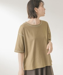 tシャツ Tシャツ F by ROSSO 汗ジミ防止配色ステッチTシャツ|ZOZOTOWN PayPayモール店