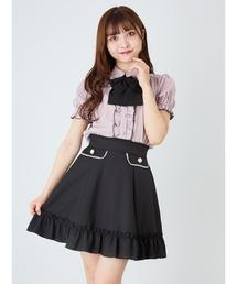 スカート パールフラップギャザーヘムスカート|ZOZOTOWN PayPayモール店