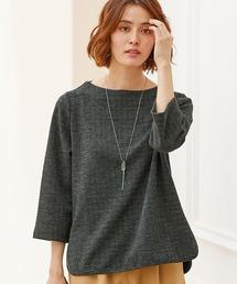 tシャツ Tシャツ へリンボン素材ボトルネックプルオーバー ZOZOTOWN PayPayモール店