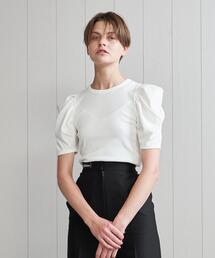tシャツ Tシャツ <H>COTTON RIB TUCK SHORT SLEEVE T-SHIRT/Tシャツ|ZOZOTOWN PayPayモール店