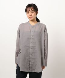 シャツ ブラウス TCボイルノーカラーシャツ|ZOZOTOWN PayPayモール店