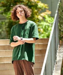 tシャツ Tシャツ 9.17oz USAコットン ヘビーウェイト オーバーサイズ ポケット半袖 Tシャツ|ZOZOTOWN PayPayモール店