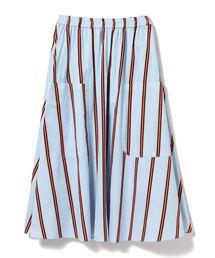 スカート CAROLINA GLASER / オリジナルストライプ スカート|ZOZOTOWN PayPayモール店