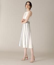 ドレス 《M Maglie le cassetto》バイカラーニットワンピース ZOZOTOWN PayPayモール店