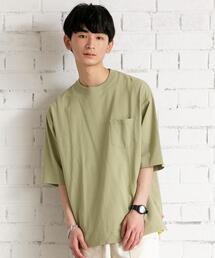 tシャツ Tシャツ USAコットンリラックスシルエットポケットTシャツ ZOZOTOWN PayPayモール店