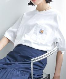 tシャツ Tシャツ carhartt(カーハート) ビッグシルエット ポケット半袖 ロゴ Tシャツ Workwear Pocket 1/2 Sleev ZOZOTOWN PayPayモール店