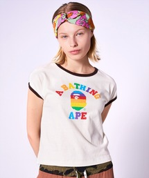 tシャツ Tシャツ RAINBOW COLLEGE TRIM TEE L|ZOZOTOWN PayPayモール店