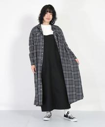 サロペット オーバーオール [D.M.G / ディーエムジー] フィールドバックサテン オーバースカート ZOZOTOWN PayPayモール店
