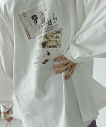 tシャツ Tシャツ ポラロイドフォトプリントBIGプルオーバー|ZOZOTOWN PayPayモール店