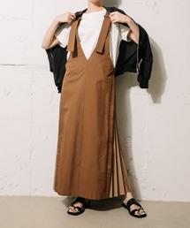 ワンピース ジャンパースカート サイドプリーツジャンパースカート ZOZOTOWN PayPayモール店
