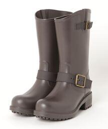 レインシューズ AAA / 長靴に見えない 厚底エンジニアレインブーツ(3550)|ZOZOTOWN PayPayモール店