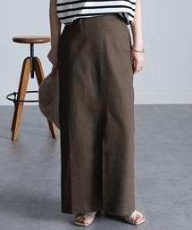スカート チノライクフロントスリットタイトスカート|ZOZOTOWN PayPayモール店