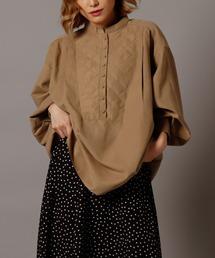 シャツ ブラウス quilt docking shirt ZOZOTOWN PayPayモール店