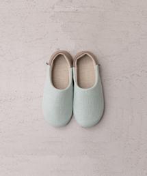 靴下 カラーコンビリネンルームシューズ M|ZOZOTOWN PayPayモール店