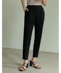パンツ スラックス [低身長/大きいサイズ有][保湿]丈が選べる美脚リサイクルスリムテーパードパンツ|ZOZOTOWN PayPayモール店