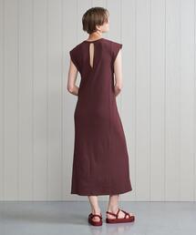 ワンピース <H>COTTON RIB LONG DRESS/ワンピース|ZOZOTOWN PayPayモール店