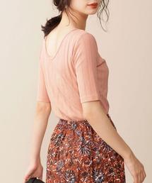 tシャツ Tシャツ Anti Soaked RIB ボートネック5分袖|ZOZOTOWN PayPayモール店