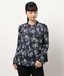 シャツ ブラウス フラワー風通JQ/シャツ|ZOZOTOWN PayPayモール店