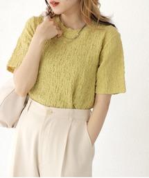 tシャツ Tシャツ コンパクトクラッシュジャガードカットソー|ZOZOTOWN PayPayモール店