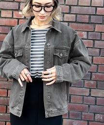 ジャケット Gジャン ゆるビッグシルエットのコットン&デニムジャケット ZOZOTOWN PayPayモール店