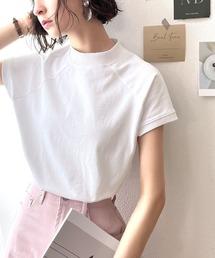 tシャツ Tシャツ 綿100%USAコットン、大人のモックネックTシャツ。|ZOZOTOWN PayPayモール店