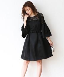 ドレス フレアスリーブワンピース|ZOZOTOWN PayPayモール店