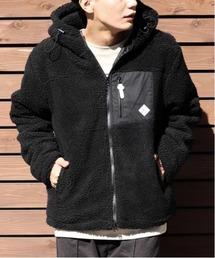 ジャケット ブルゾン 【Bk】【セレクト】表ボアZIPパーカー|ZOZOTOWN PayPayモール店