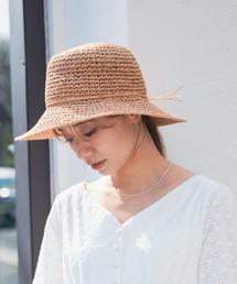 帽子 ハット ナロ−リボンストローハット 946612|ZOZOTOWN PayPayモール店