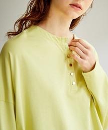 tシャツ Tシャツ SUGAR ROSE/シュガーローズ/後ネック金ボタンオーバーカットトップス ZOZOTOWN PayPayモール店