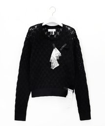 ニット LACE KNIT SWEATER|ZOZOTOWN PayPayモール店
