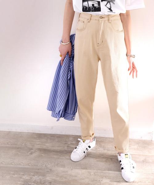 最安値 パンツ 定番から日本未入荷 デニム ゆるっと穿くルーズバルーンのテーパードパンツ ジーンズ