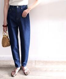 パンツ デニム ジーンズ ゆるっと穿くルーズバルーンのテーパードパンツ|ZOZOTOWN PayPayモール店