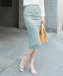 スカート 総レースタイトスカート/510566L|ZOZOTOWN PayPayモール店