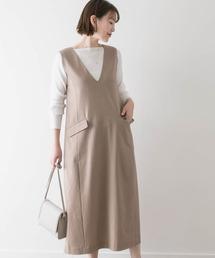 ワンピース ジャンパースカート F by ROSSO Aラインジャンパースカート|ZOZOTOWN PayPayモール店