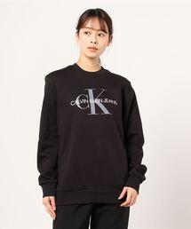 スウェット 【Calvin Klein JEANS/カルバンクライン ジーンズ】モノグラムロゴトレーナー|ZOZOTOWN PayPayモール店