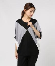 tシャツ Tシャツ トリコットニットソーカラーブロックプルオーバー|ZOZOTOWN PayPayモール店