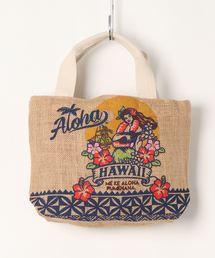 トートバッグ バッグ 【Kahiko】Hawaiian クラシックジュートバッグ|ZOZOTOWN PayPayモール店