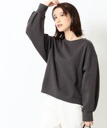 スウェット B:MING by BEAMS / 袖タック 裏毛 プルオーバー 21SS ZOZOTOWN PayPayモール店